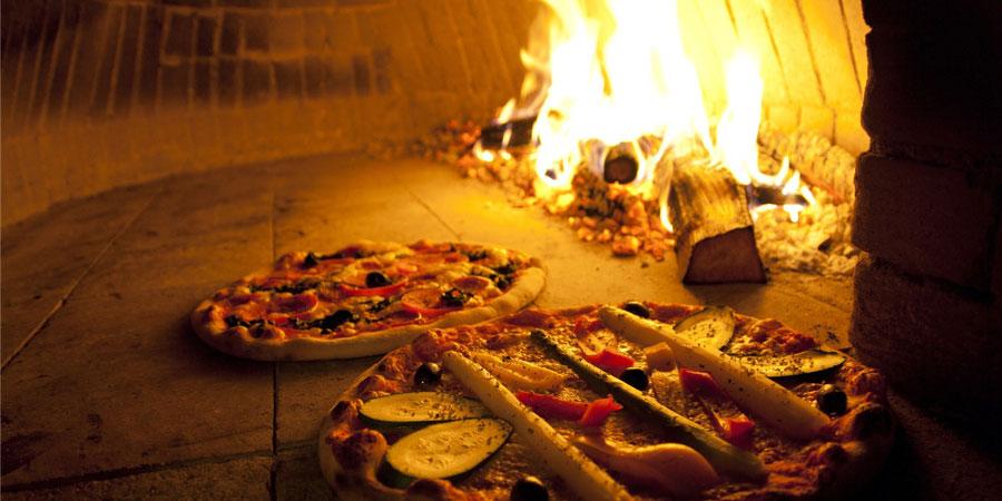 temperatura del horno para pizza