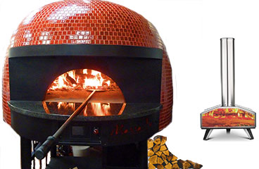 hornos de leña para pizza